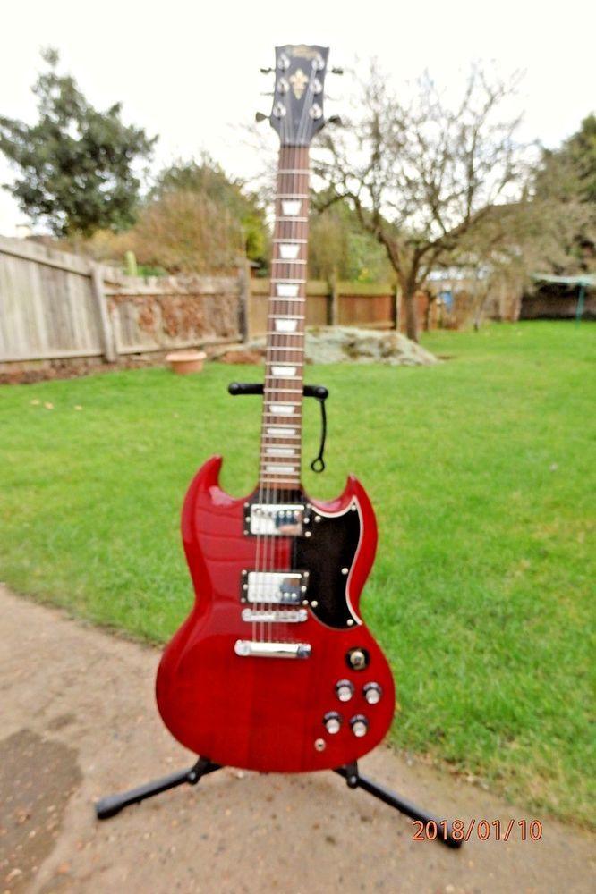 Vintage Vs6 Sg Elecric Guitar Guitar Vintage Guitars Vintage