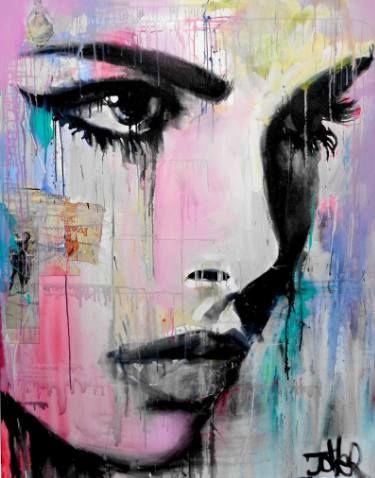 "Saatchi Art Artist Loui Jover; Painting, ""tempest .... ((SOLD))"" #art"