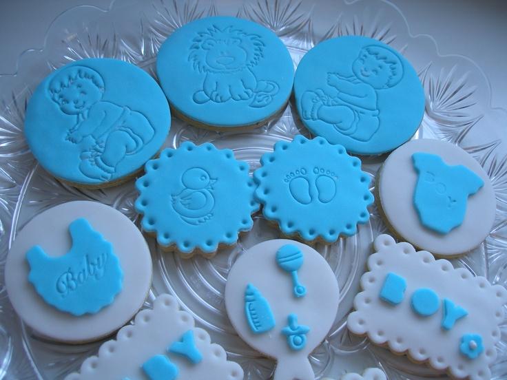 Baby Boy Cookies