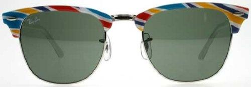 f319f1d8ae Ray Ban Rectangular Sunglasses Grey Green 63