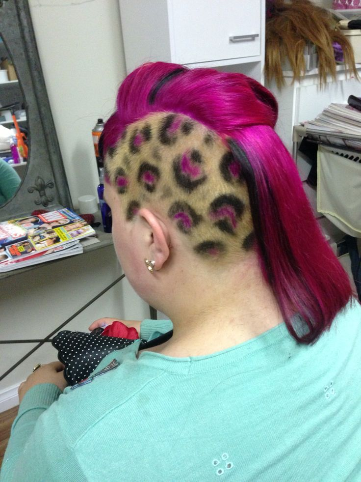 Rockabilly up do , cut and colour by me .