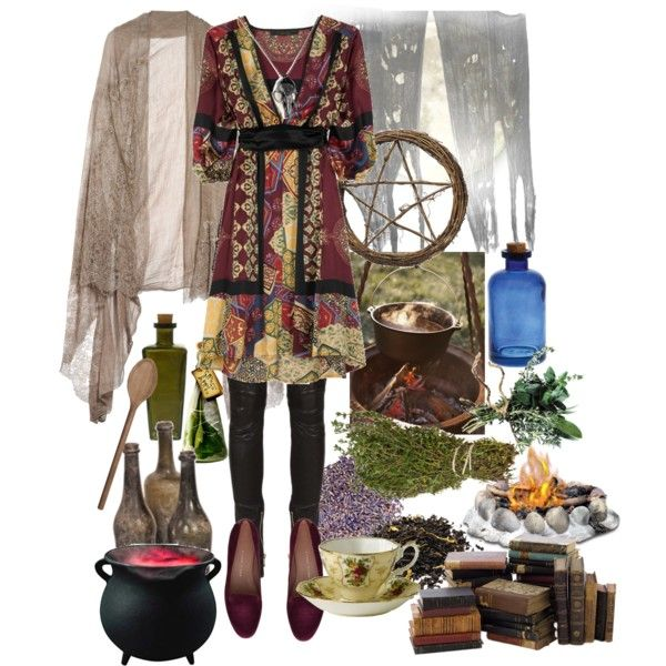 """Kitchen Witch"" by morbid-octobur on Polyvore"