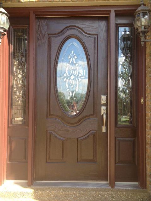 Love This Gel Stain Front Door Stained Front Door Front