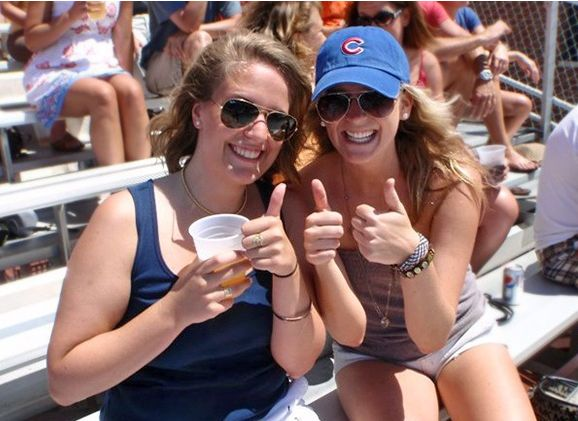 Chicago Cubs Playoff game Rooftop tickets