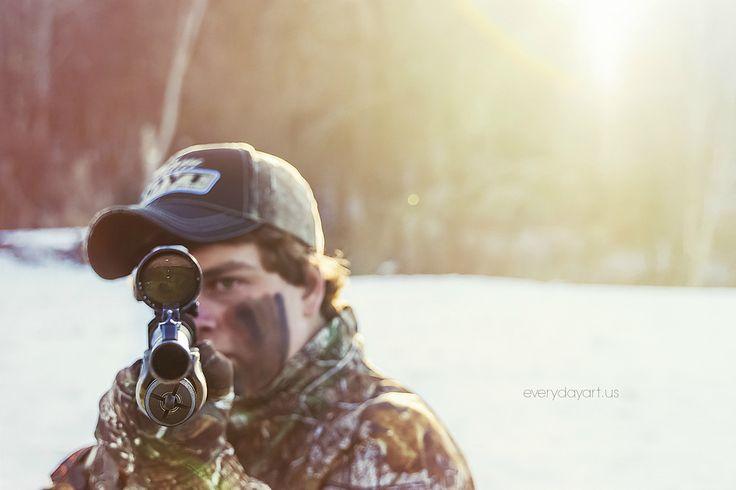 #senior #guy #pose #gun #hunting - Senior Pictures Gallery - ©Jessica Clark-McDowell everydayart.us/ , photo inspiration
