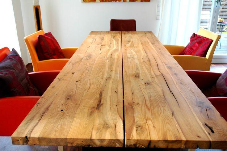 zwinz tisch eiche massiv altholz | wohnideen | pinterest | tisch