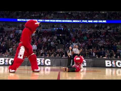 Benny the Bull 2012-13, best NBA mascot ever!!