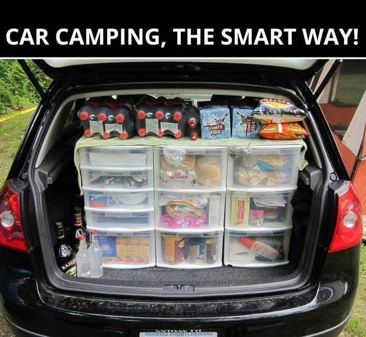 17 melhores ideias sobre organização de barraca de camping no ...