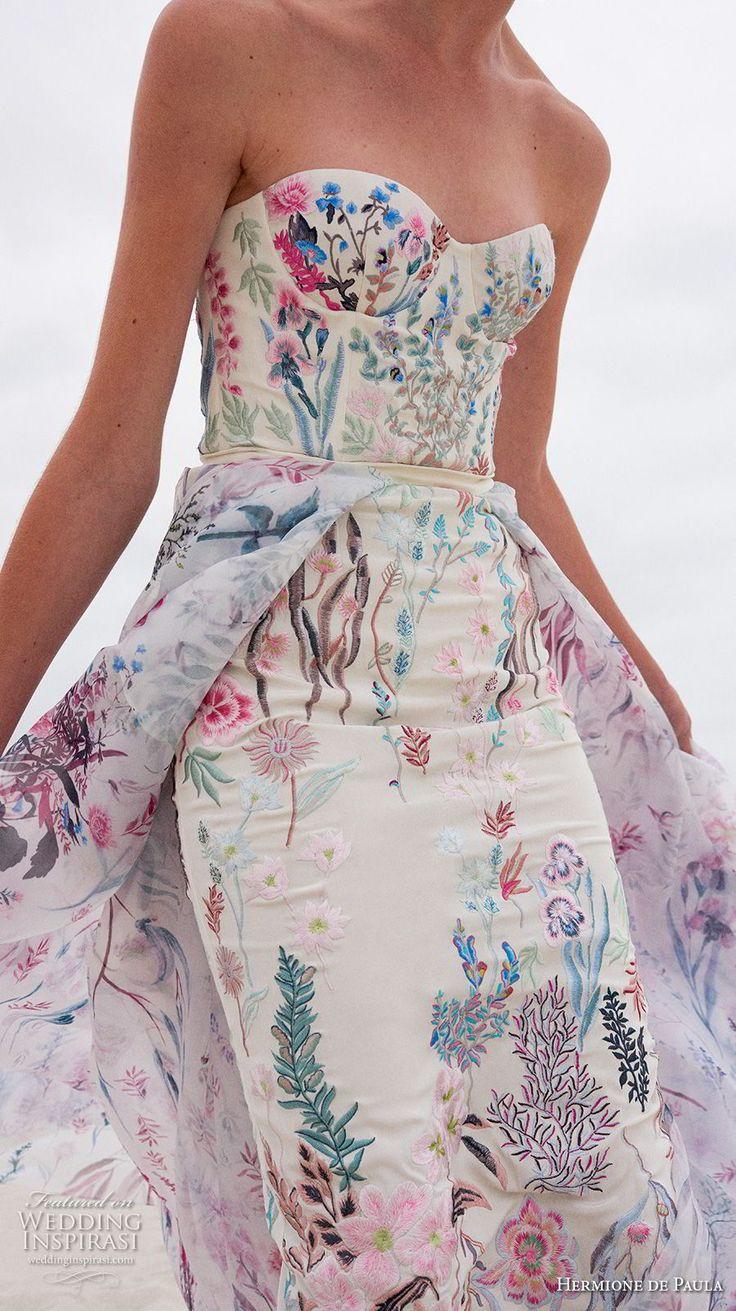 Hermione De Paula Spring 2019 Wedding Dresses - There Abeona Weddings Garden la Bridal Collection