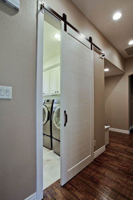 25 best ideas about sliding door curtains on pinterest for Laundry room sliding doors