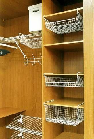 Организация пространства в шкафу | Разговоры о жизни