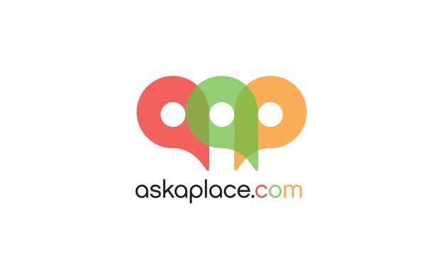 askaplace.com by Joe Nagle, via Behance