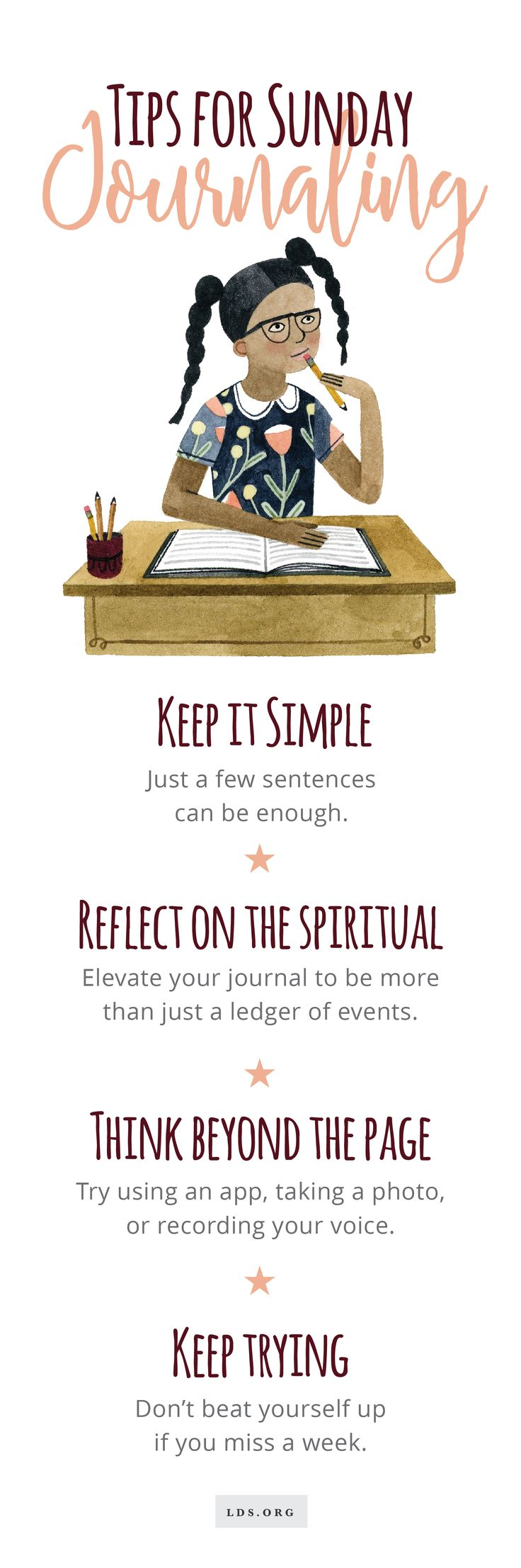 The Beginner's Guide to Sunday Journaling #LDS