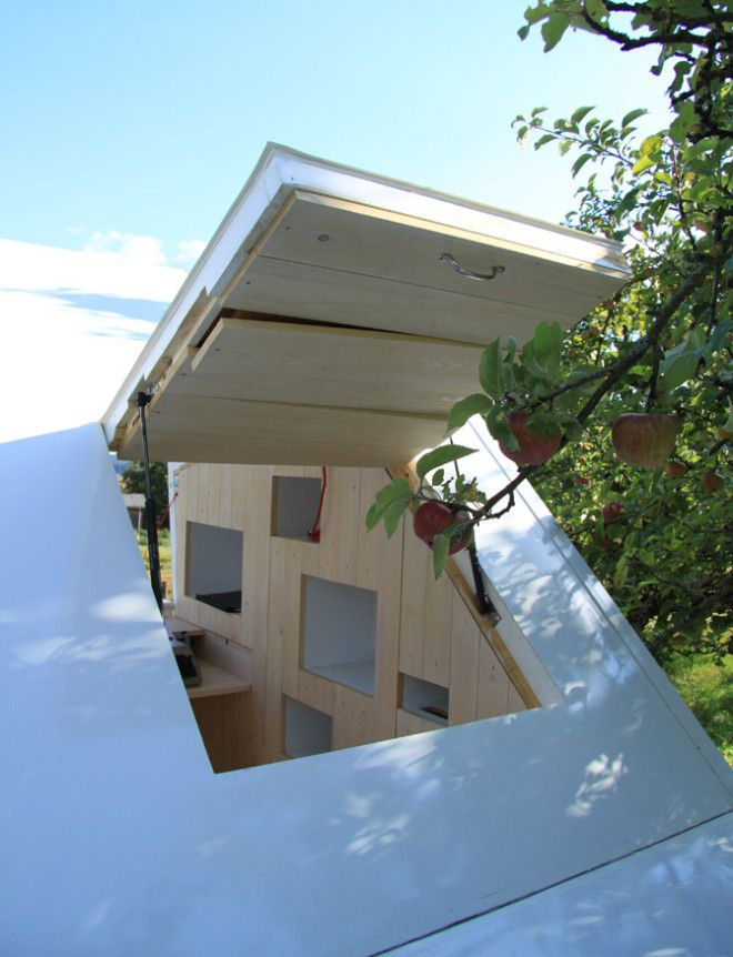Contemporary Kid Clubhouses - This Minimalist Outdoor Playhouse is Perfect for Design-Savvy Kids