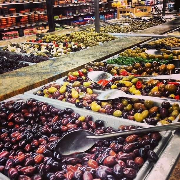The olive bar is a vast land of mysterious allure. | 25 Reasons Wegmans Is The Greatest Supermarket The World Will Ever Know