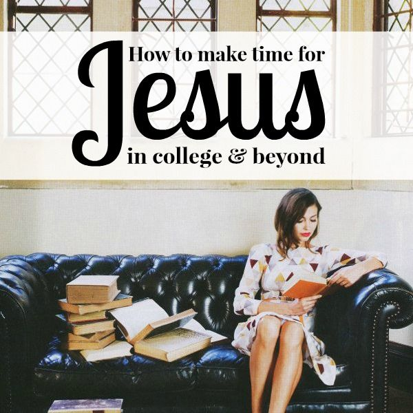 How to Keep Your Faith in College. The woman who wrote this article is incredibly wise and I love her advise!