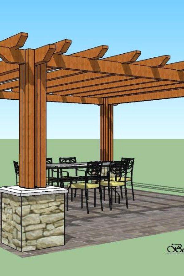 Pergola Plans Design No 13222 Beautiful Diy Wood Garden Pergola Designs You Can Create To Add Beauty To Your Plans De Pergola Pergola Design Patio Pergola