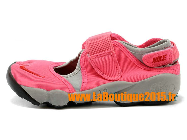 Nike Air Rift GS Chaussures Nike Running Pas Cher Pour Femme Rose 642198-ID19
