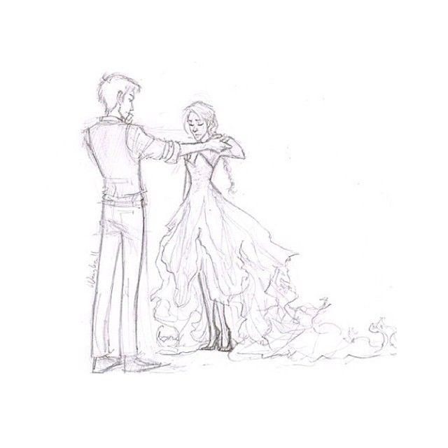 """""""Ich wette noch immer auf dich, Girl on Fire."""""""