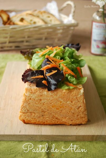 Pastel de Atún (al microondas o al horno)