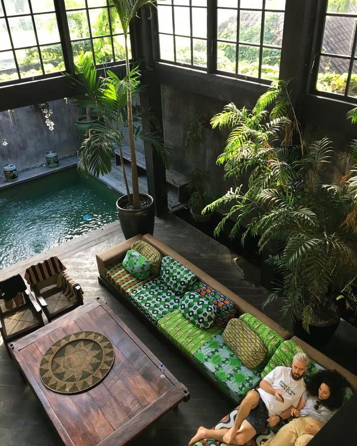 This tropical storehouse villa in Canguu, Bali. – 9GAG #homeinteriordecorationlof