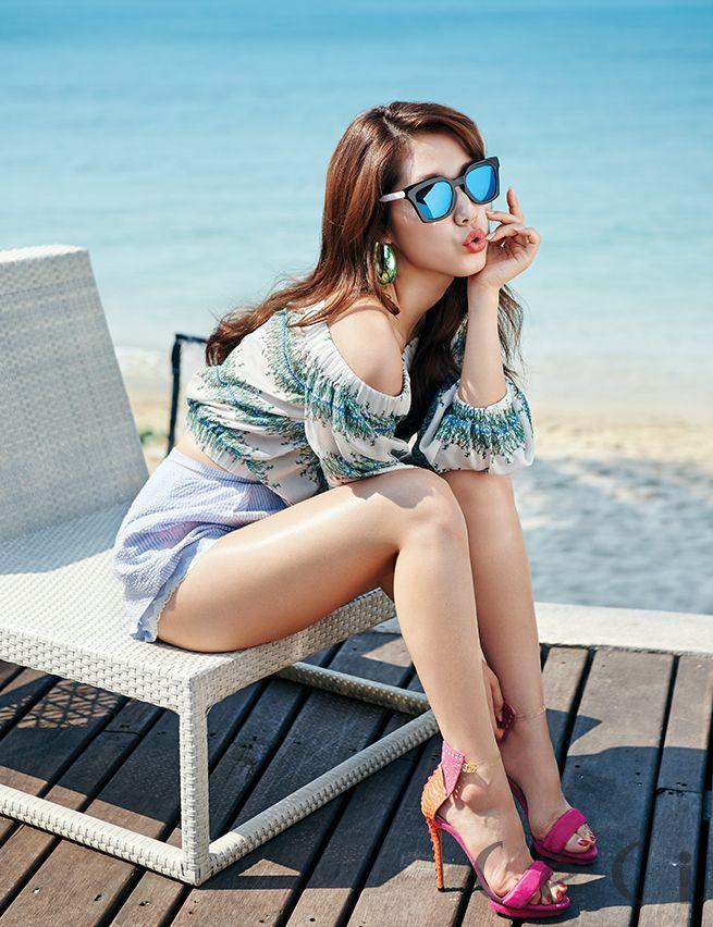 Park Shin Hye - Ceci Magazine March Issue '15