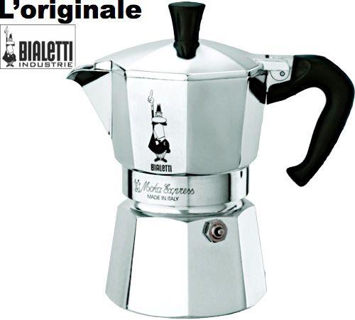 Cafetière italienne Bialetti Moka Express - 3 tasses