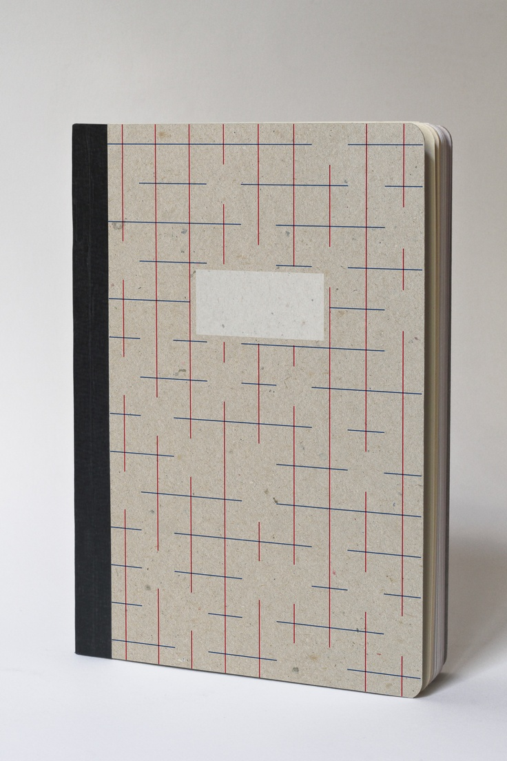 WOVEN - Smarter than a touchpad, more convenient than loose sheets: write, draw and flourish at the office and at home with this awesome notebook made in France on recycled papers. By Papier Tigre