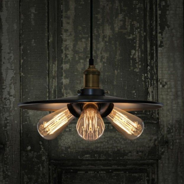 crazy retro industrial lighting