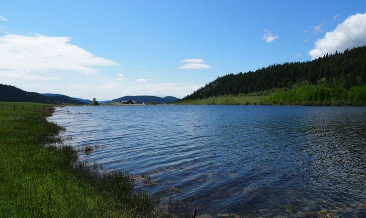 Huff Lake, Kamloops, BC, Canada. May 2012
