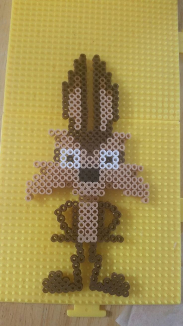 Wile E. Coyote - Looney Tunes perler beads