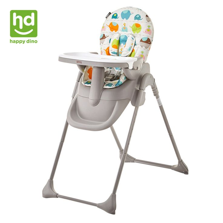 Happy Dino Baby Dining Chair Multifunction Portable Infant Highchair Adjustable