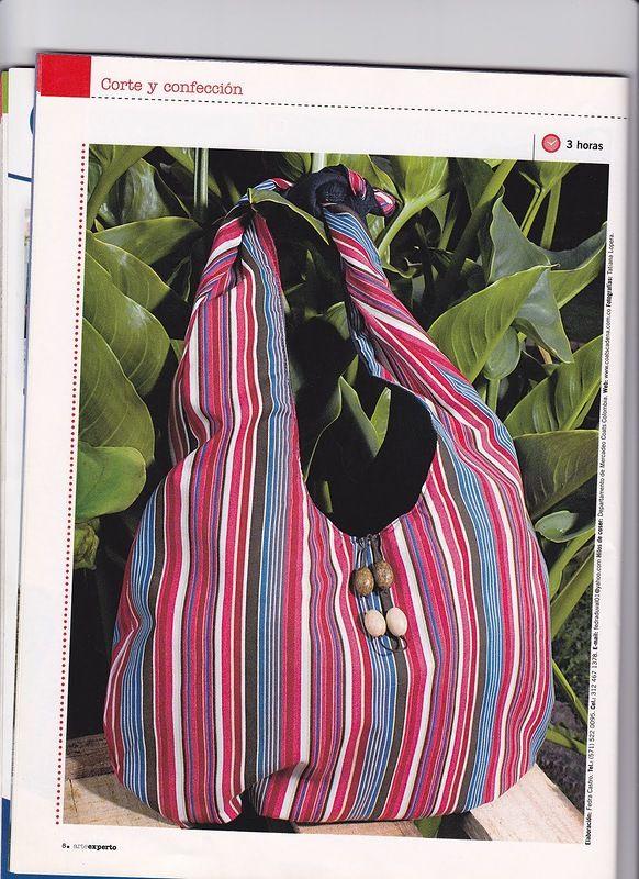 Журнал: Bolsos - Arte Experto 30 (шьём летние сумки) - Подруга иголка - ТВОРЧЕСТВО РУК - Каталог статей - ЛИНИИ ЖИЗНИ
