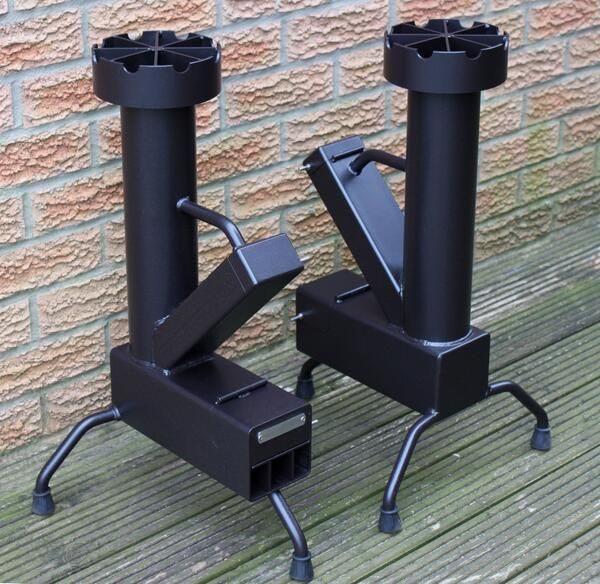 Embedded image off grid pinterest for Small rocket heater