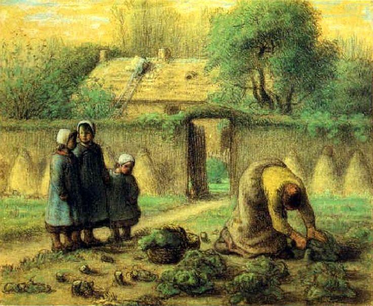 17 best images about millet jean fran ois on pinterest for Le jardin de woolens