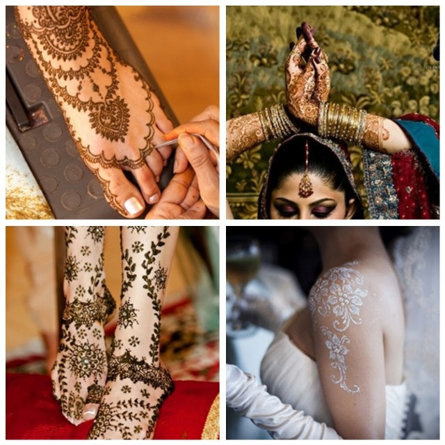 Brilliant Wedding, Bridal, Bridesmaids HENNA. via Sireesha Thompson & Eventolistas