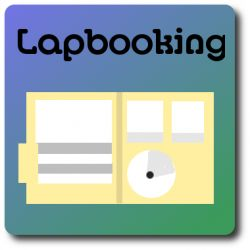 Lapbooking can be done by any learner-- from preschoolers to adults. With this educational method, you make mini-books covering details that you've studied. After making a variety of mini-books about a larger topic, all the books are put together in a large folder. The finished product is called a lapbook because it's large and covers your lap.