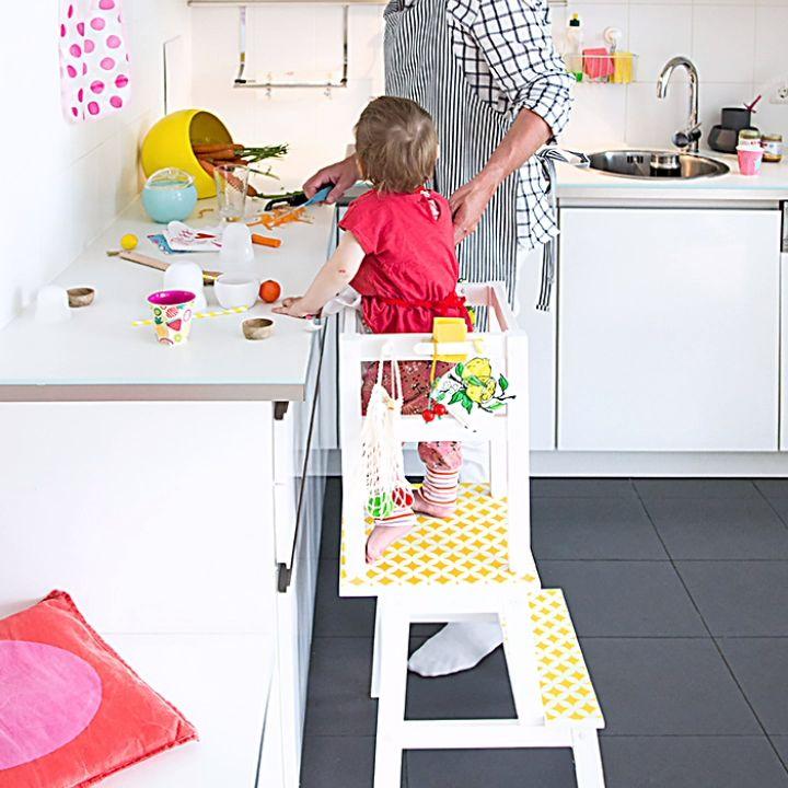 IKEA Hack Lernturm DIY selber machen!