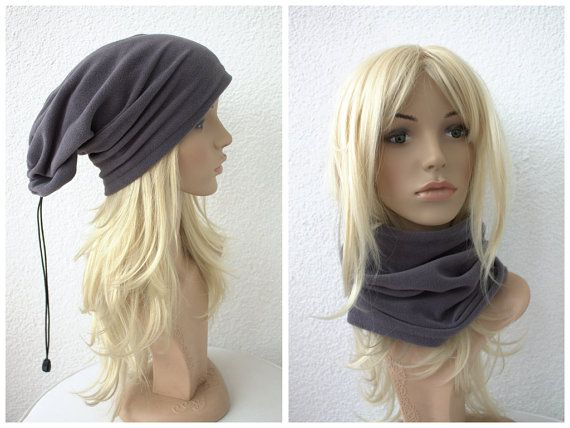 Hey, I found this really awesome Etsy listing at https://www.etsy.com/listing/174504203/adjustable-grey-fleece-hat-and