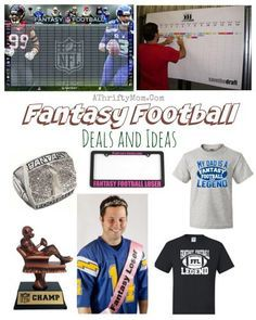 Fantasy Football Draft Player board,  These are so much fun, Football awards and trophy, Football party,  NFL