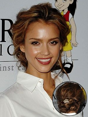 The Perfect Updo For Your Face Shape