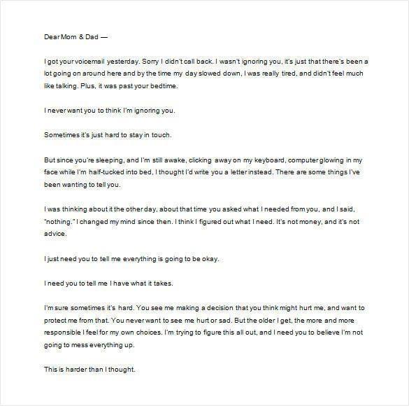math worksheet thank you letter parents free sample example pinterest teacher introduction read