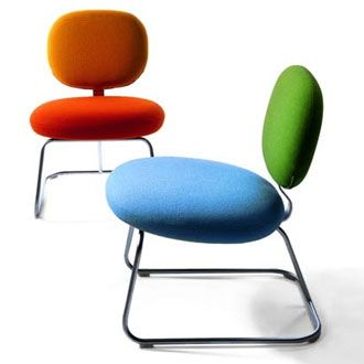 How cute are these chairs!!  Jasper Morrison Vega Chair