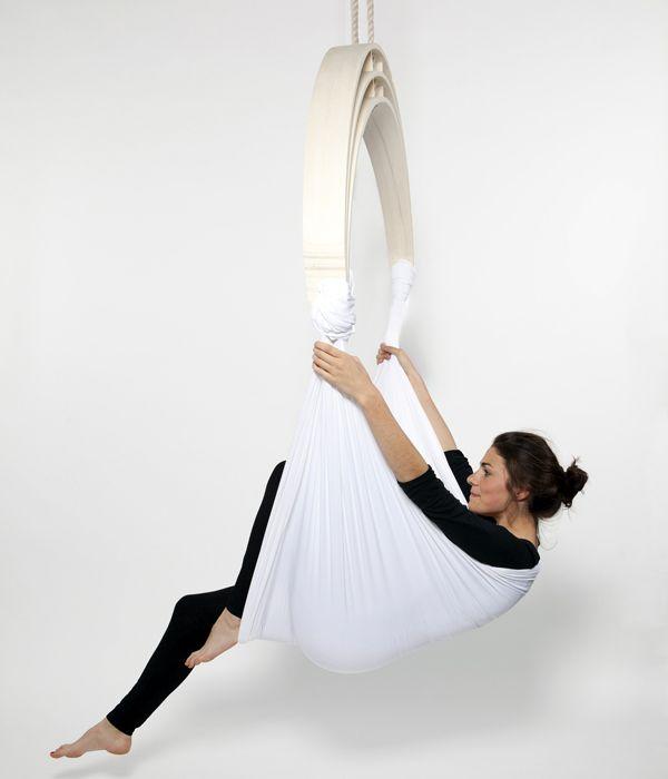 Would need to convince Pace a little... i LOVE aerial fabric for yoga. And being able to do this at home, yes, i would pay for it. Just need to find that darn stud in the ceiling...