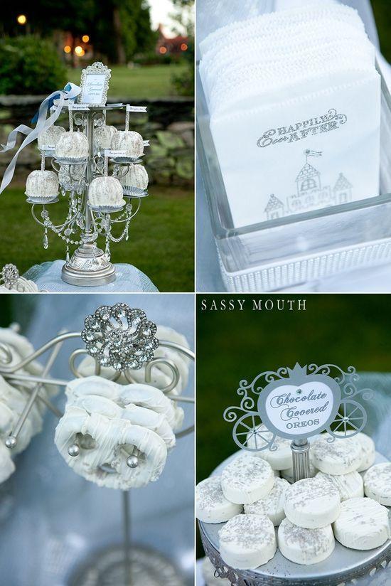 Cinderella wedding inspired photo shoot - dessert