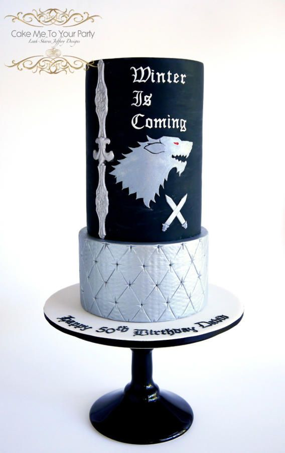 94 best Game of Thrones Cakes images on Pinterest Game of thrones