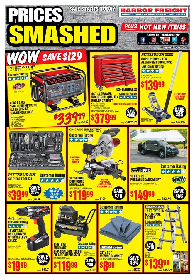 Harbor freight flyer coupons