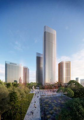 Central Business District in Changchun - e-architect