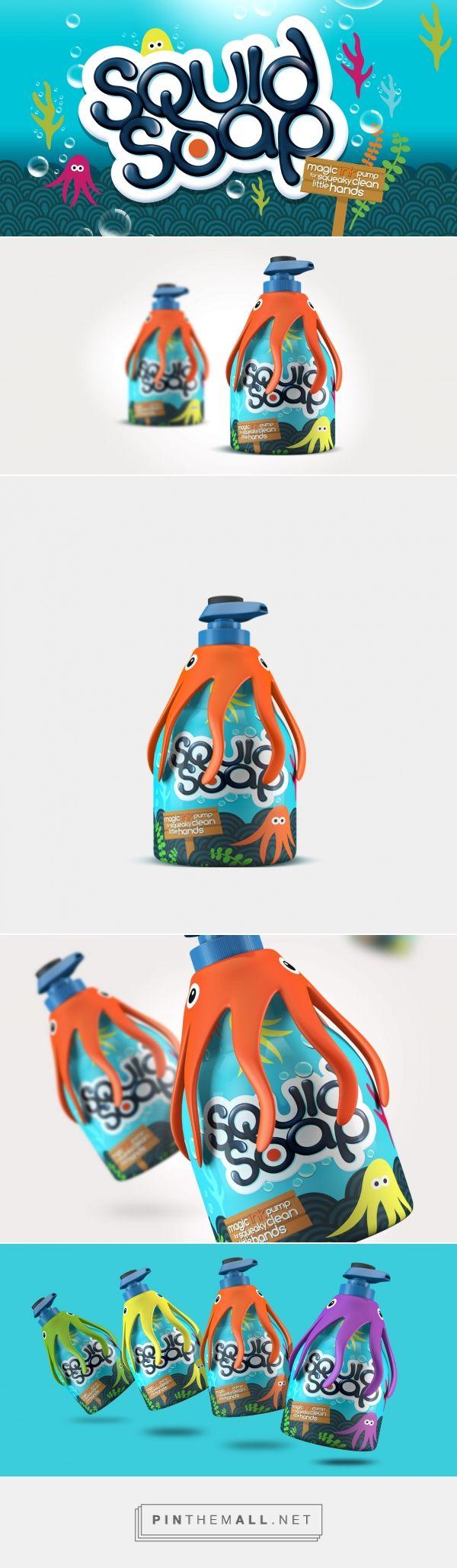 Squid Soap Kids - by Design Happy UK