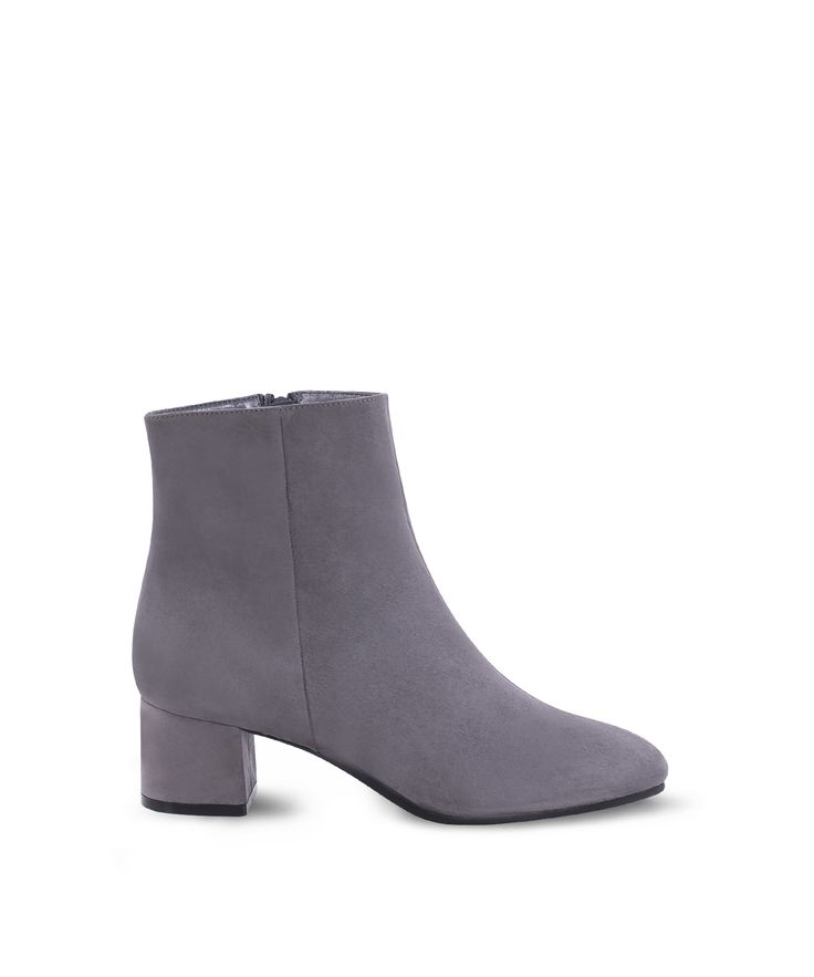 SANTE ankle heeled bootie for all day xmas walks... Grey